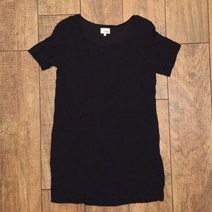 Aritizia Wilfred free T-shirt black dress